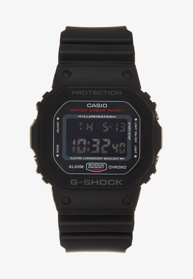 Digitální hodinky - schwarz