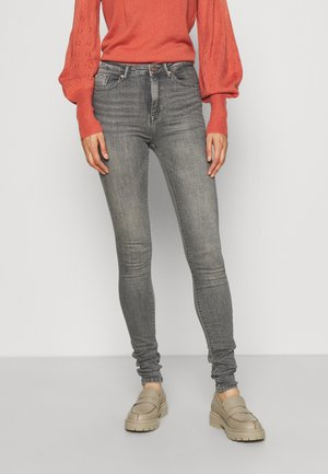 ONLPAOLA LIFE - Jeans Skinny - grey denim