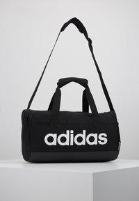 adidas Performance - LIN DUFFLE XS UNISEX - Sportstasker - black/white - 0
