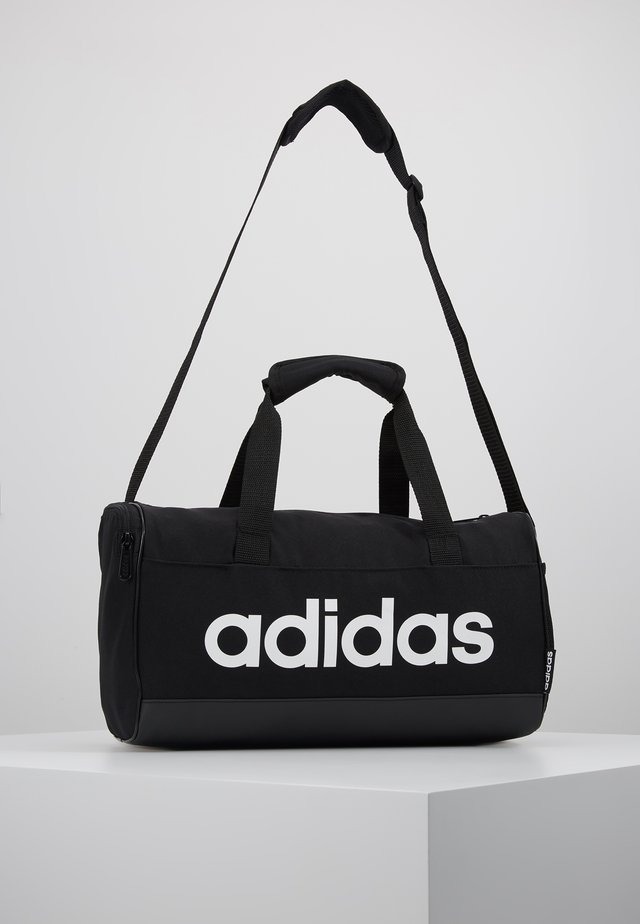 LIN DUFFLE XS UNISEX - Sports bag - black/white