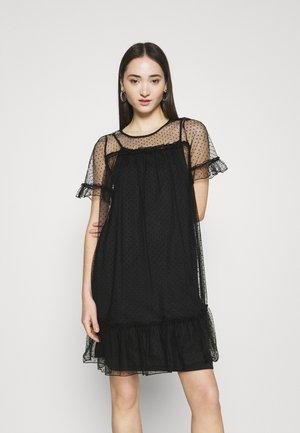VMDORTHANA SHORT DRESS - Day dress - black