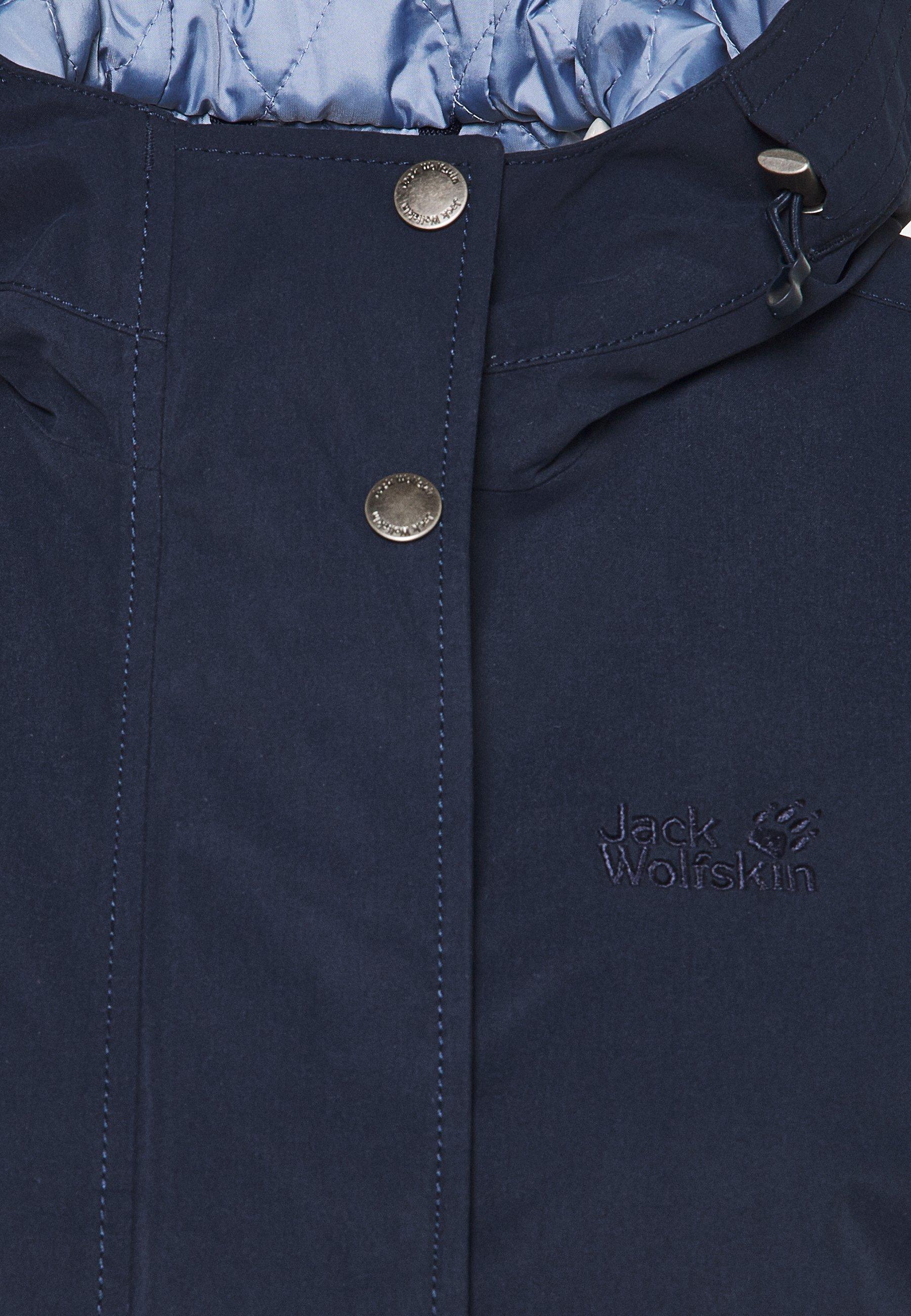 Great Deals Women's Clothing Jack Wolfskin LAKE LOUISE JACKET Parka midnight blue MVDJveMlR