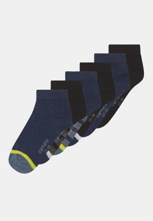 ONLINE CHILDREN QUARTERS 6 PACK - Socks - blue