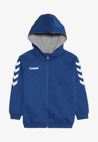 Hummel - HMLGO - Hoodie met rits - true blue - 3