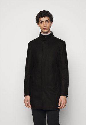 COAT FLIGHT  - Classic coat - black