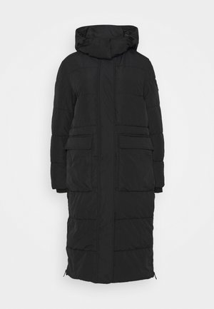 OVERSIZE MODERN - Winter coat - black
