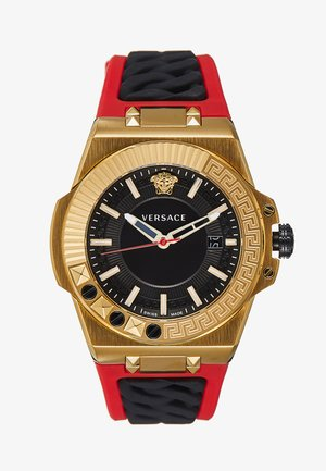 CHAIN REACTION - Montre - red/gold-coloured