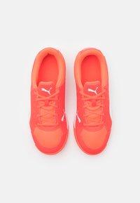 Puma - AURIZ UNISEX - Multicourt tennis shoes - red blast/white - 3