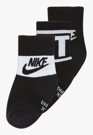 CREW 3 PACK - Socks - black