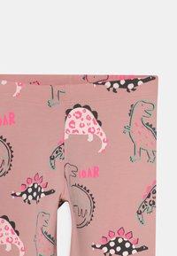 Marks & Spencer London - DINOSAUR - Leggings - Trousers - pink - 2