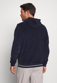 Lacoste - veste en sweat zippée - navy blue - 2