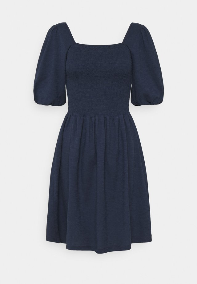 VMALINA SHORT SMOCK DRESS  - Sukienka letnia - navy blazer