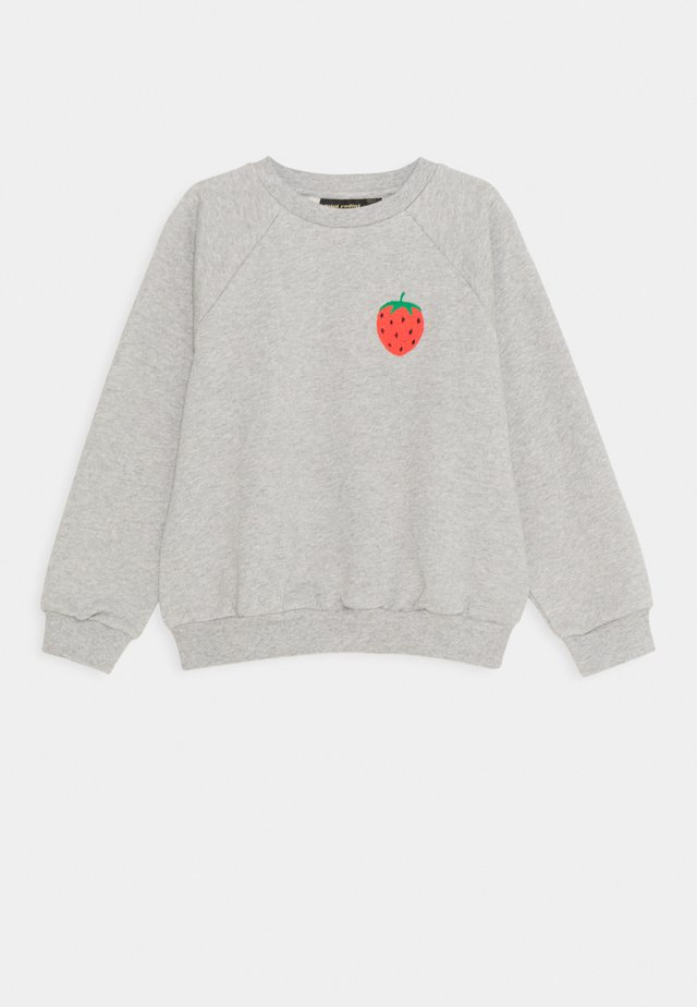 STRAWBERRY UNISEX - Sweatshirt - grey melange