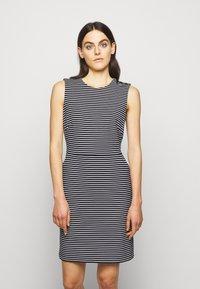 Lauren Ralph Lauren - PONTE - Pouzdrové šaty - lauren navy/pale - 0