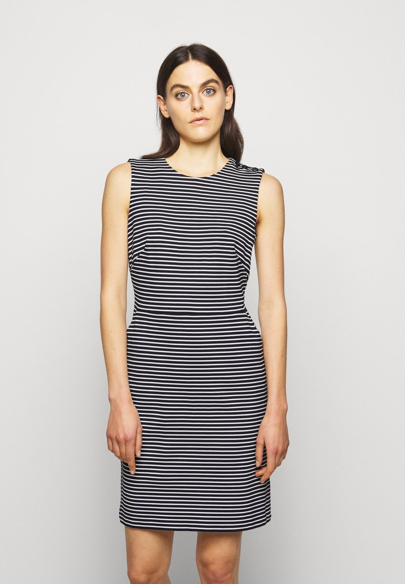 Lauren Ralph Lauren - PONTE - Pouzdrové šaty - lauren navy/pale
