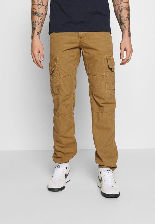 STOP PANT - Pantaloni cargo - khaki