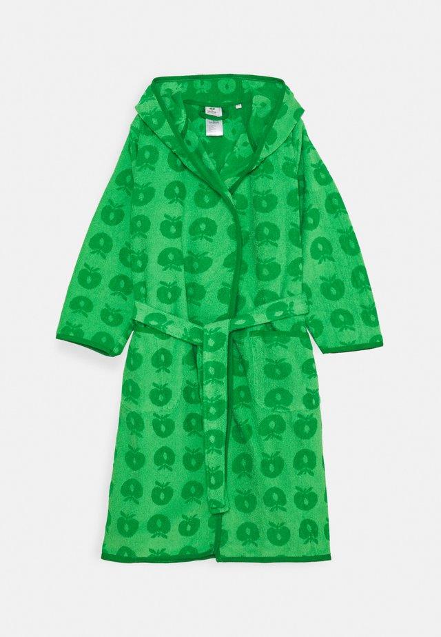 BADEKÅBE MED ÆBLER UNISEX - Peignoir - green