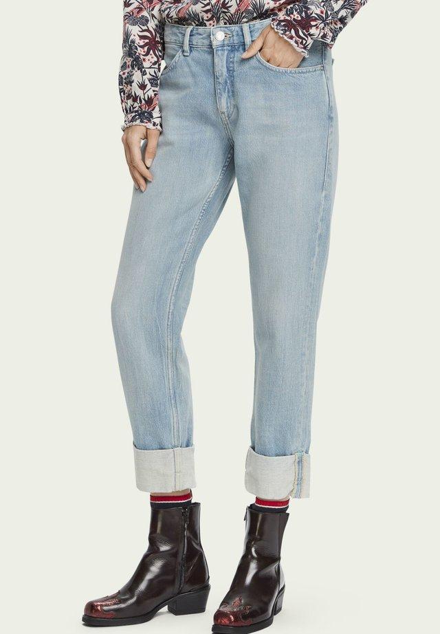 BANDIT CROPPED - Jeans Straight Leg - island souvenir