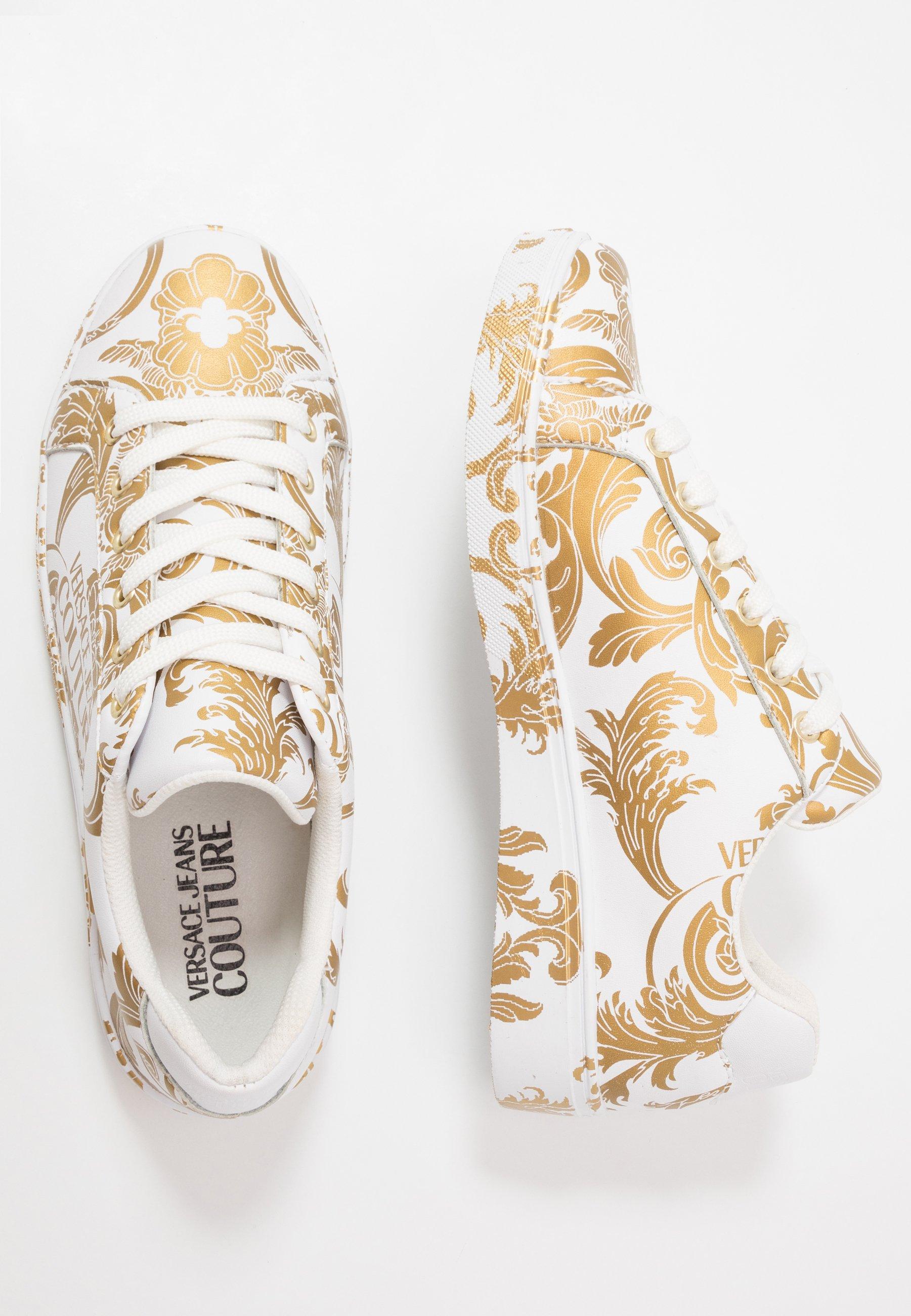 Versace Jeans Couture CAP SOLE Baskets basses bianco