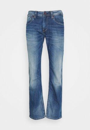 KINGSTON - Straight leg jeans - denim