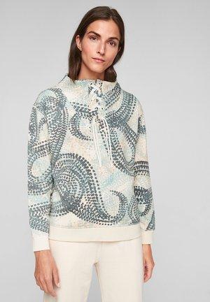 Sweater - light sand aop