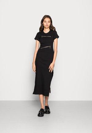 BAND DRESS - Day dress - black