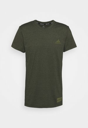 TECH TEE - Jednoduché triko - green