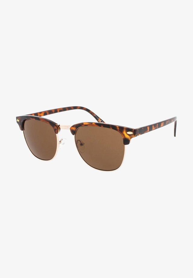 CAIRO - Sluneční brýle - tortoise/brown lens