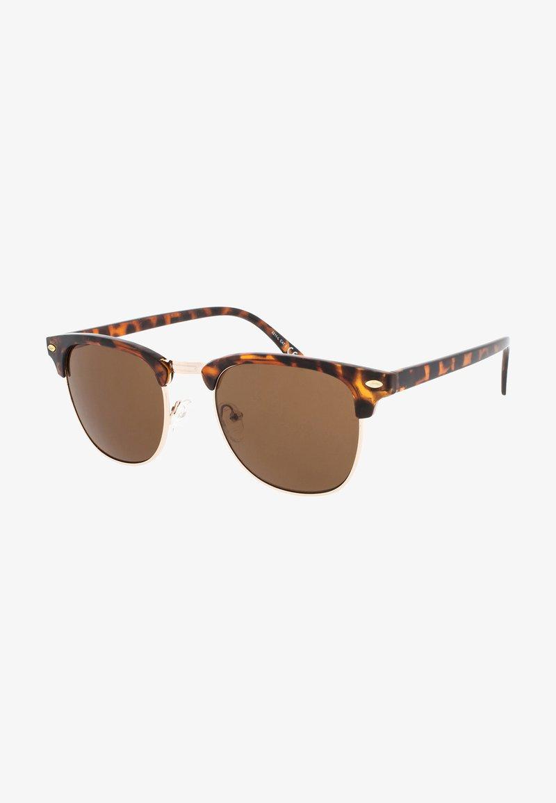 Icon Eyewear - CAIRO - Sluneční brýle - tortoise/brown lens