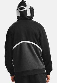 Under Armour - Zip-up hoodie - Black - 1