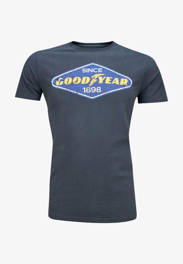 EAST LAKE - Print T-shirt - grau