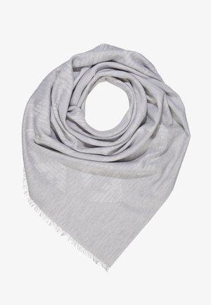 FOULARD TILED EAGLE PRINT - Huivi - pearl grey