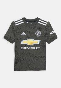 adidas Performance - MANCHESTER UNITED AEROREADY FOOTBALL UNISEX - Club wear - legacygreen/black - 0