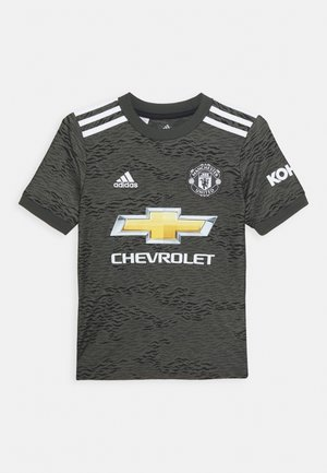 MANCHESTER UNITED AEROREADY FOOTBALL UNISEX - Article de supporter - legacygreen/black