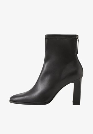 PUNTO - Bottines à talons hauts - black