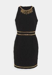 MOSCHINO - DRESS - Etui-jurk - black - 6