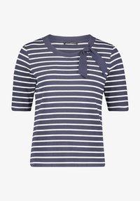 Betty Barclay - Print T-shirt - dunkelblau weiß - 3