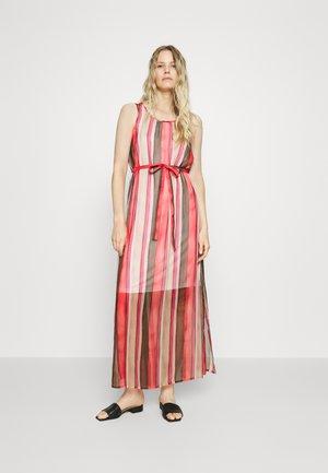 Vestido largo - beige/pink