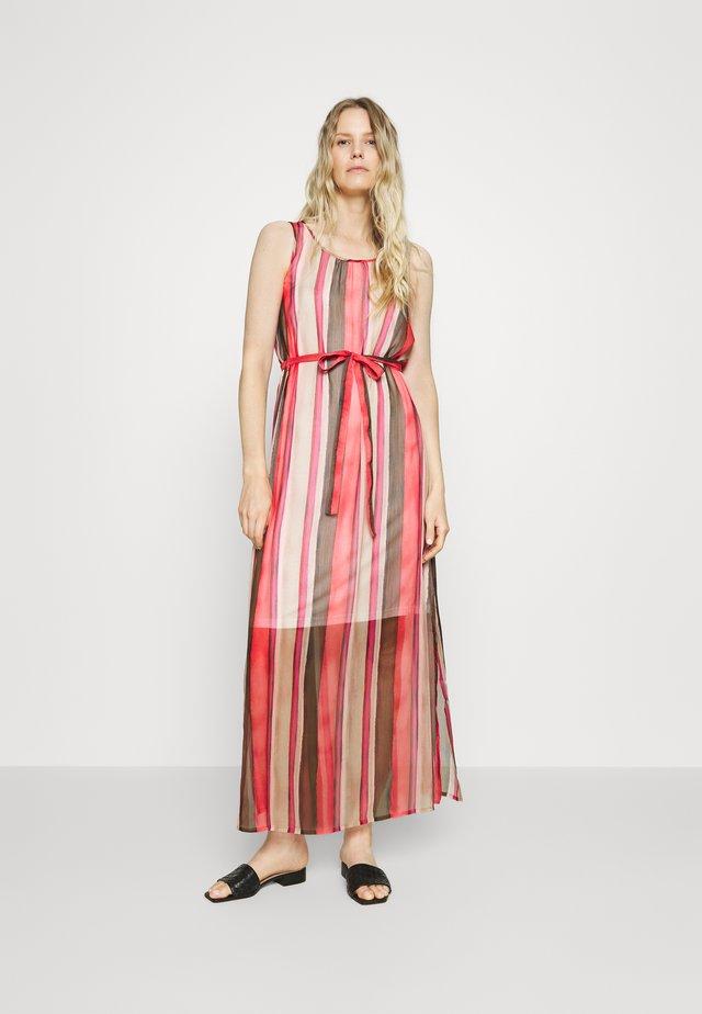 Robe longue - beige/pink