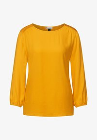 Street One - MIT PUFF - Long sleeved top - gelb - 3