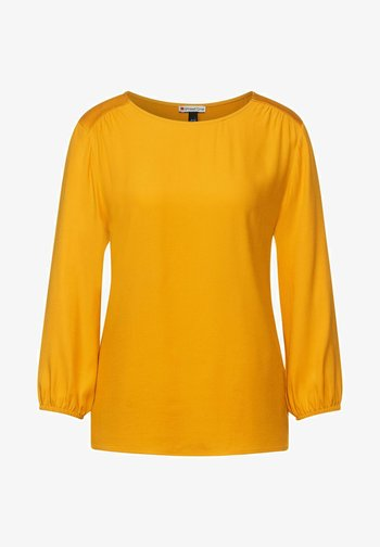 MIT PUFF - Long sleeved top - gelb