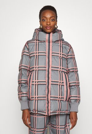 Down coat - grey