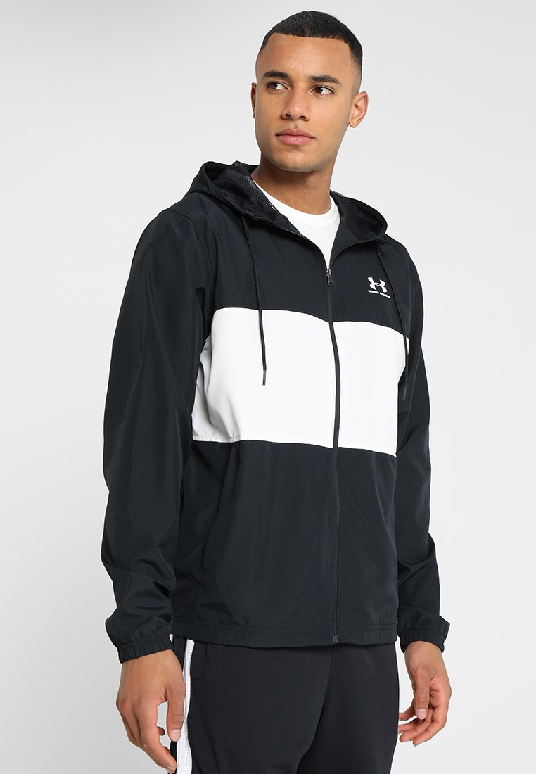 Under Armour - Training jacket - black/onyx white
