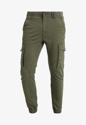 JJIPAUL JJFLAKE  - Pantalon cargo - olive night