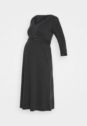 LEBETIA - Jersey dress - black