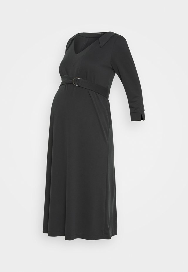 LEBETIA - Jersey dress - black