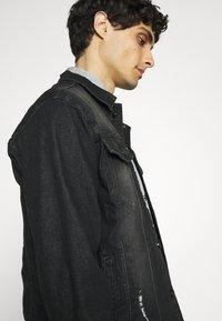 INDICODE JEANS - GLENALVON - Denim jacket - black - 5
