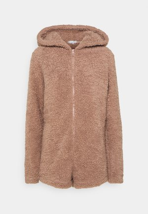 SHORTIETEDDY EAR ROMPER - Pyjamas - taupe