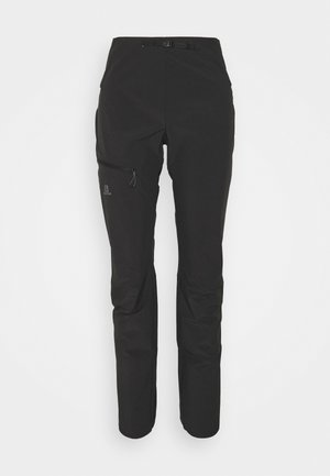 OUTSPEED PANTS - Kangashousut - black
