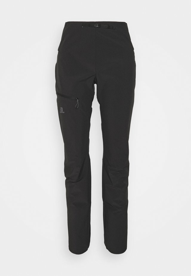 OUTSPEED PANTS - Stoffhose - black